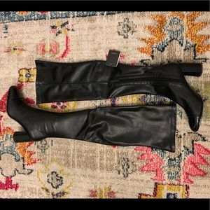 NWT Zara Knee High Boots